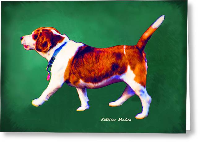 Greeting Card featuring the photograph Mirrored Companion 1 by KLM Kathel