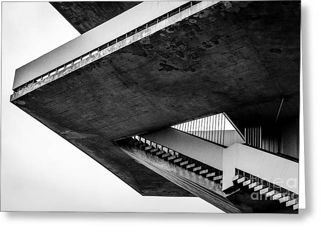 Stairs - 1st Prize Greeting Card by Mate Orosz