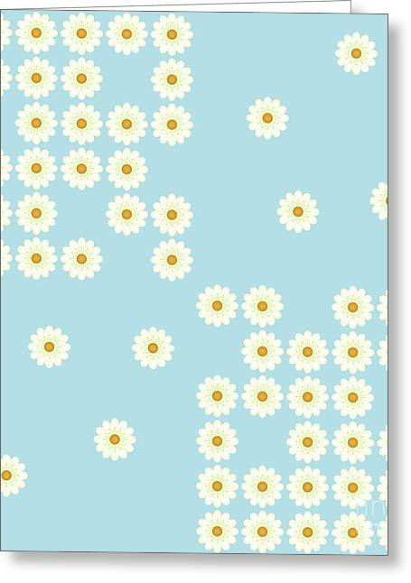 Misplaced Daisies Greeting Card