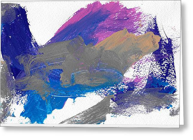 Miss Emma's Abstract Greeting Card by Fred Wilson