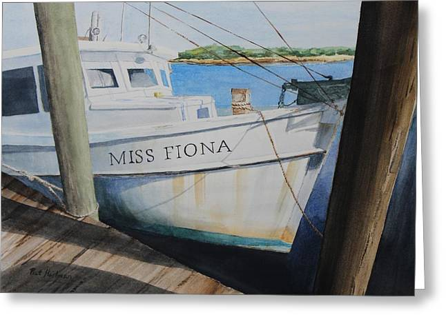 Miss Fiona Greeting Card