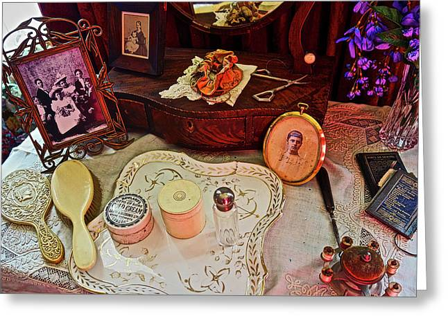 Miss Mary's Table. Greeting Card