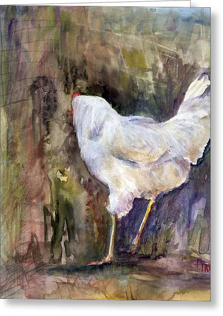Miss Priss Greeting Card by Jimmie Trotter