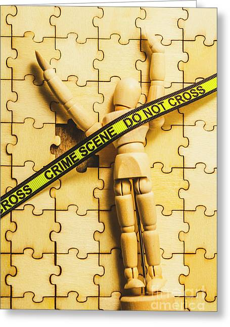 Missing Piece Of The Puzzle Greeting Card