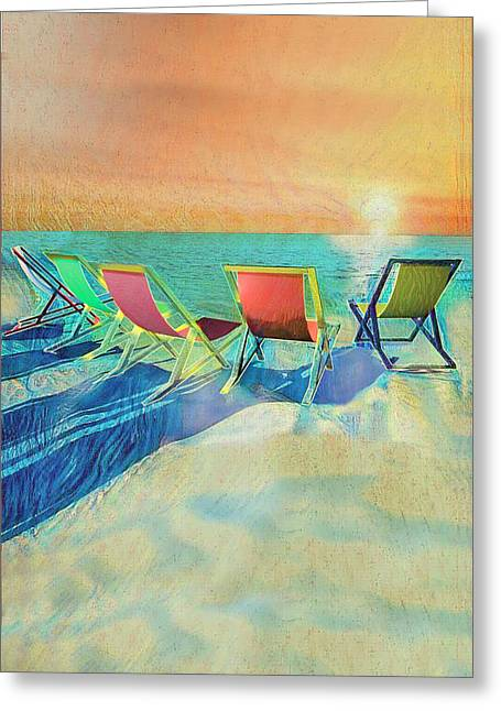 Missing The Sun Greeting Card by Joseph Bird