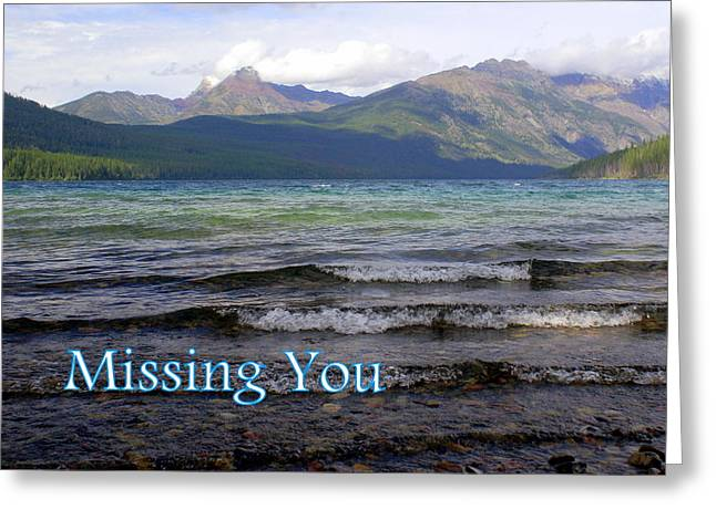 Missing You 1 Greeting Card by Marty Koch