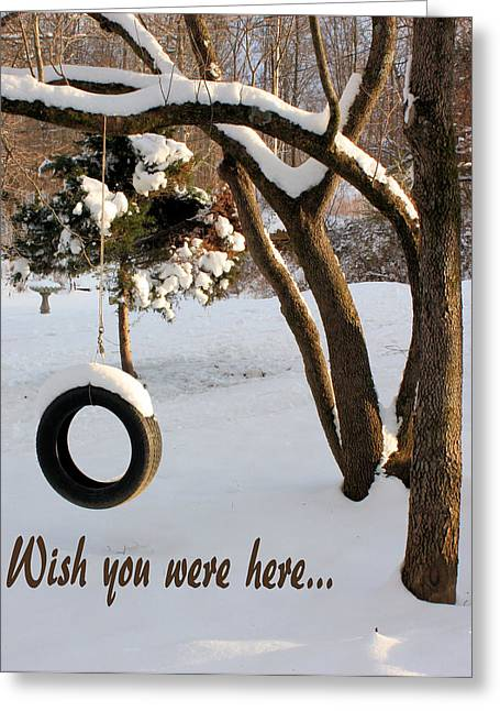 Missing Greeting Cards - Missing You Greeting Card by Kristin Elmquist