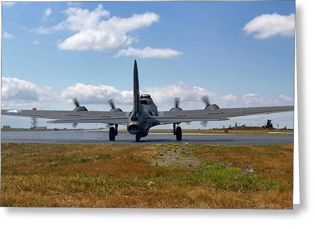 Historic Aviation Greeting Cards - Mission 25 Greeting Card by Peter Chilelli
