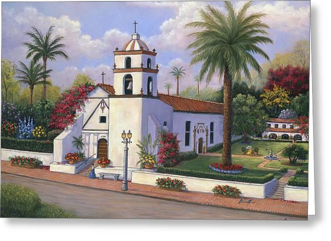 Mission Buenaventura  Greeting Card