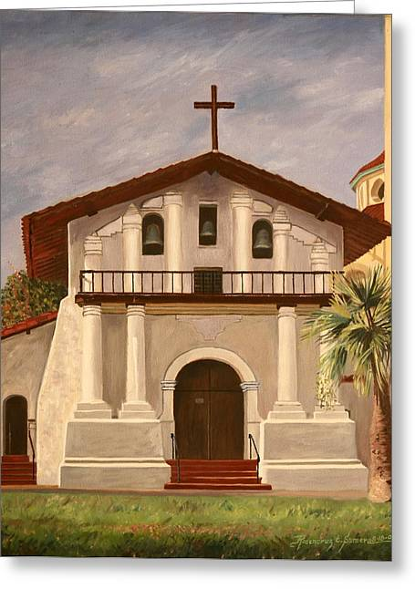 Mission Dolores Greeting Card