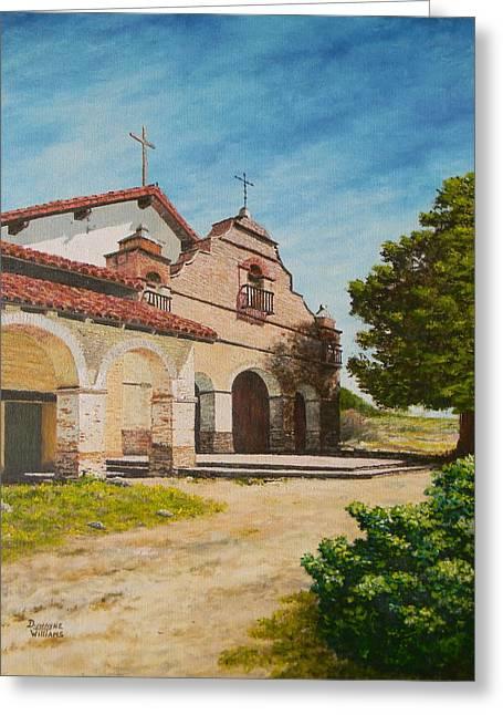 Mission San Antonio Greeting Card