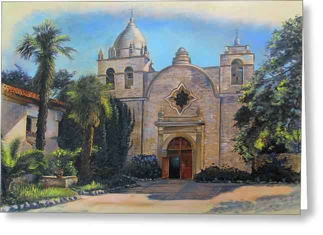 Mission San Carlos In Carmel By The Sea Greeting Card