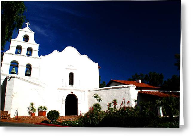 Greeting Card featuring the photograph Mission San Diego De Alcala by Christopher Woods
