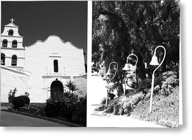 Mission San Diego De Alcala No1 Greeting Card by Mic DBernardo