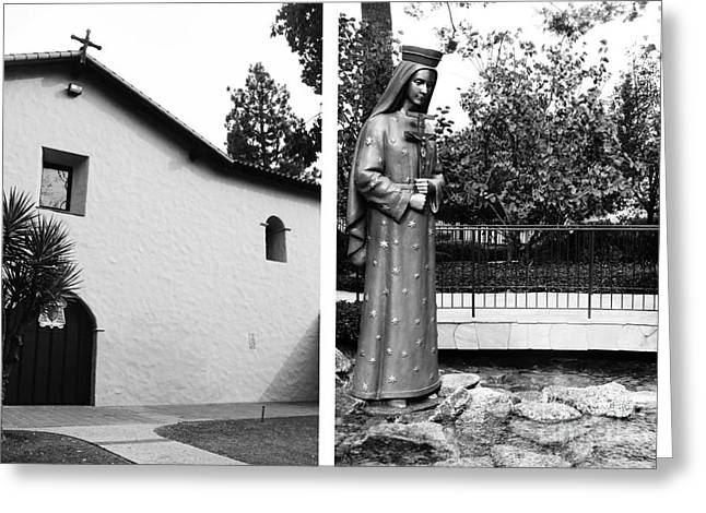 Mission San Fernando Rey De Espana No1 Greeting Card by Mic DBernardo