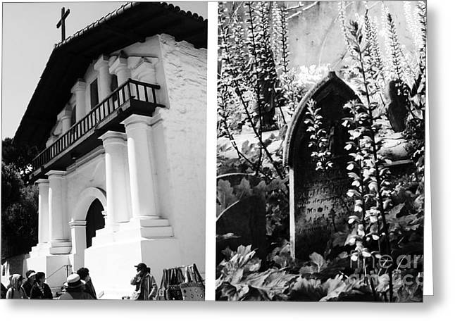 Mission San Francisco De Asis Aka Mission Dolores No1 Greeting Card by Mic DBernardo