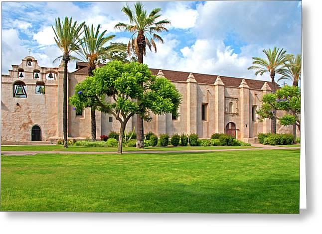 Mission San Gabriel Arcangel, San Gabriel, California Greeting Card