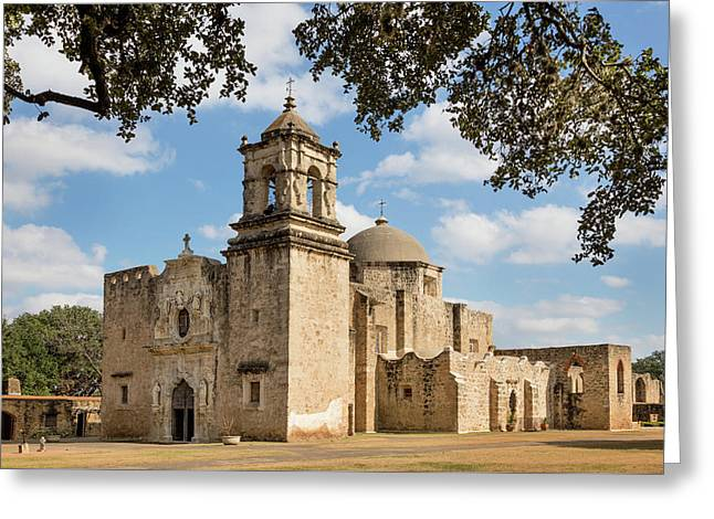 Greeting Card featuring the photograph Mission San Jose by Mary Jo Allen