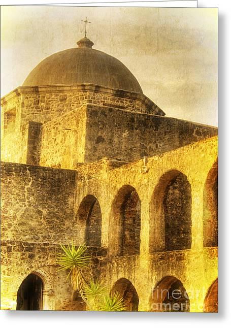 Mission San Jose San Antonio Texas Greeting Card