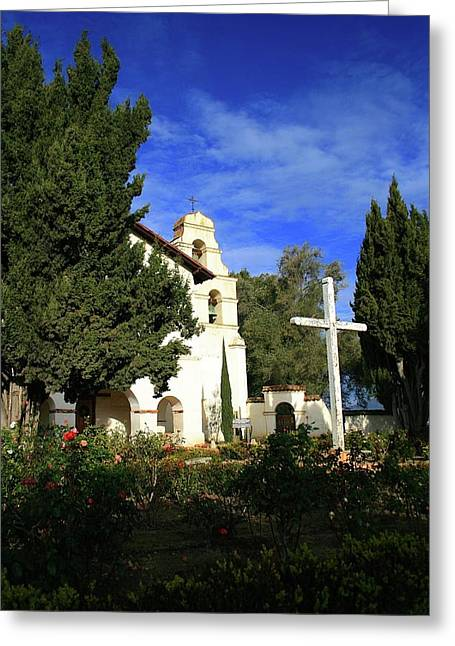 Mission San Juan Bautista #2 Greeting Card by Mark Mickelsen
