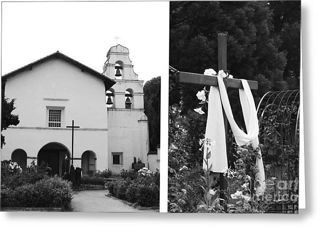 Mission San Juan Bautista No1 Greeting Card by Mic DBernardo