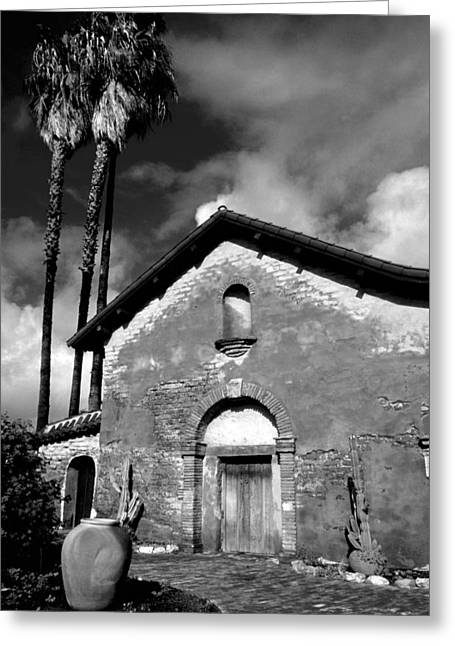 Mission San Juan Capistrano Greeting Card by Eric Foltz