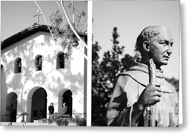 Mission San Luis Obispo No1 Greeting Card by Mic DBernardo