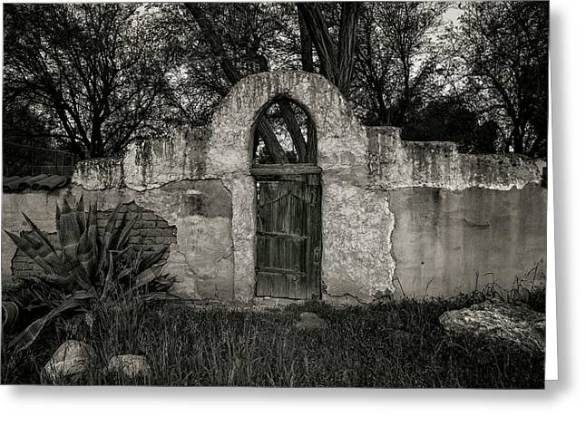 Mission San Miguel Gate Greeting Card