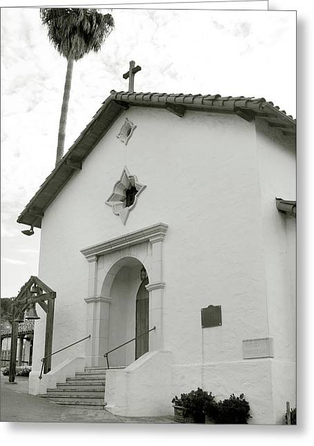 Mission San Rafael Arcangel Greeting Card by Art Block Collections