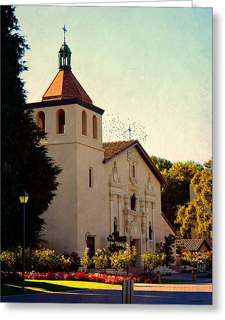 Mission Santa Clara - California Greeting Card