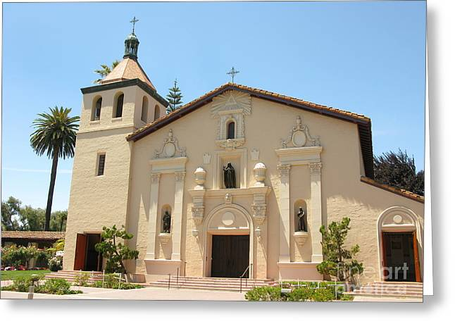 Mission Santa Clara Greeting Card