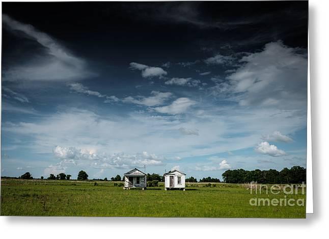Mississippi Delta Homesteads Greeting Card