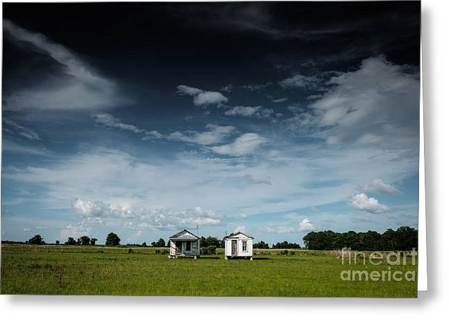 Mississippi Delta Homesteads Greeting Card