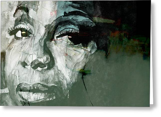 Mississippi Goddam Greeting Card by Paul Lovering