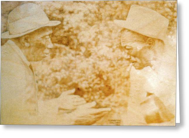 Mississippi John Hurt And Son House Greeting Card