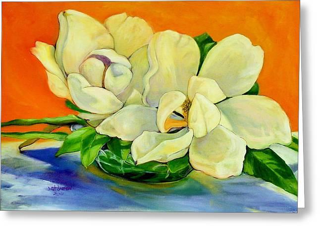 Mississippi Magnolias Greeting Card