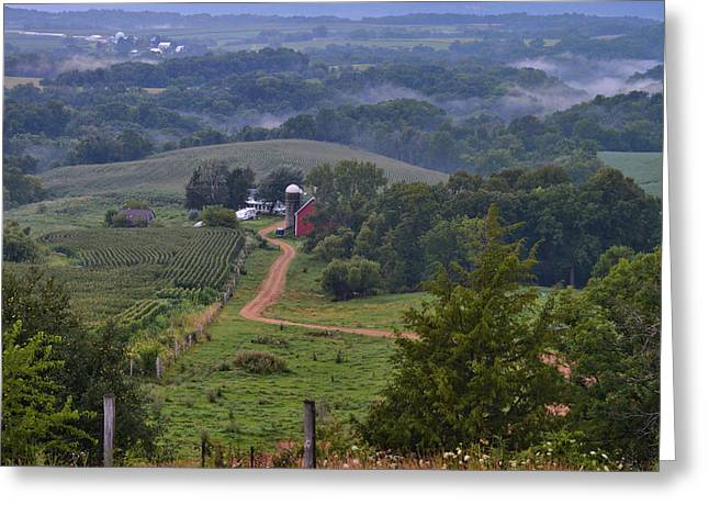 Mississippi River Valley 2 Greeting Card