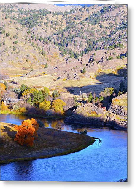 Missouri River Greeting Card
