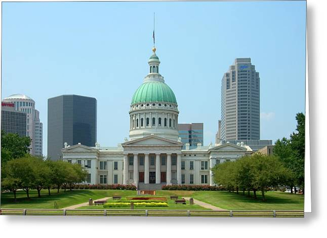 Missouri State Capitol Building Greeting Card