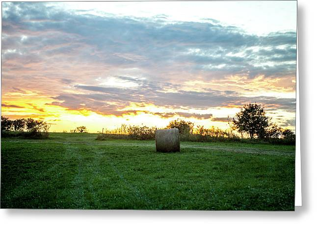 Missouri Sunset Greeting Card
