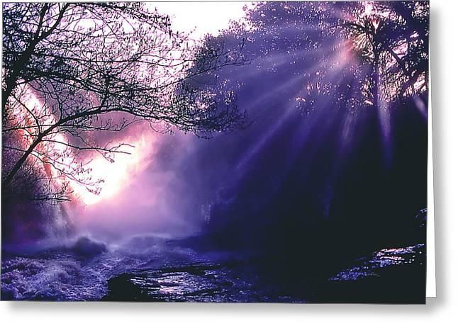 Mist Of Ireland Greeting Card by Matthew Altenbach