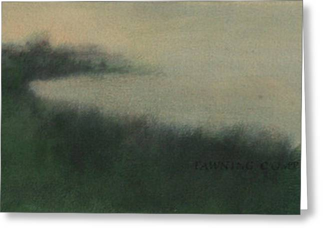 Mist Greeting Card by Ruth Sharton