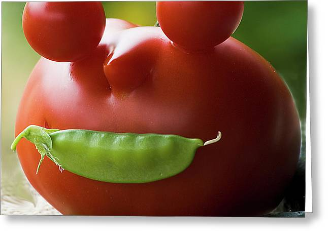 Mister Tomato Greeting Card