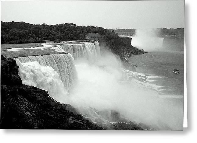 Mistical Niagara Falls Greeting Card