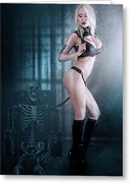 Mistress Death Greeting Card by SGH Photoart