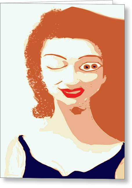 Mistress Of Duality Greeting Card