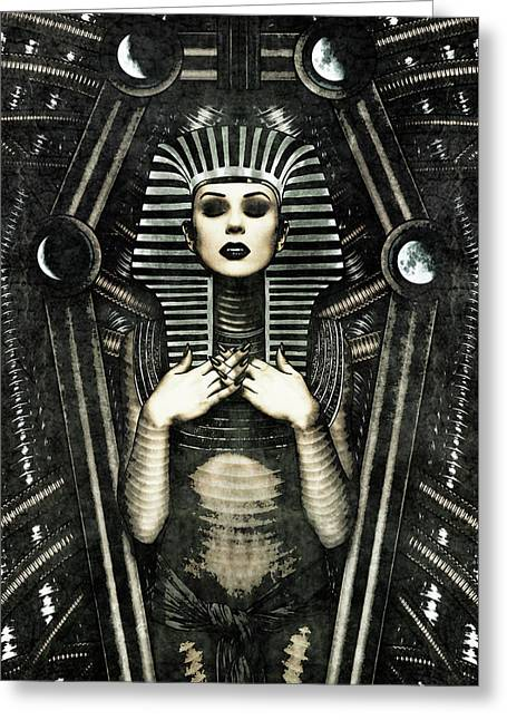 Mistress Of The House Greeting Card