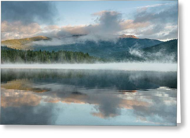 Mists Of The Summer Dawn Greeting Card