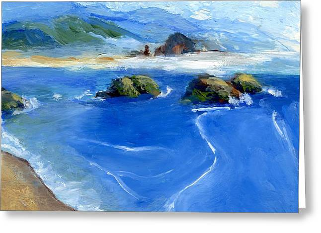 Misty Bodega Bay Greeting Card