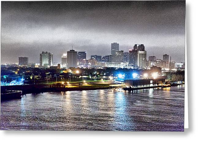 Misty Morning In New Orleans Greeting Card by Dan Dooley